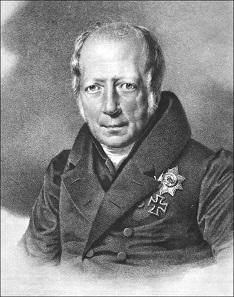 Wilhelm von Humboldt. Lithographie von Franz Krüger, vermutlich erstellt vor 1835.