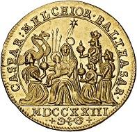 Lot 3681: Cologne. Joseph Klemens of Bavaria, 1714-1723. Ducat 1723, Bonn. Extremely rare. Extremely fine to FDC. Estimate: 25,000 euros.