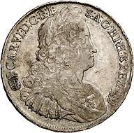 Karl VI. Reichstaler 1739, Kremnitz. Sehr schön bis vorzüglich. Taxe: 200 Euro. Aus Auktion Künker 293 (27./28. Juni 2017), Nr. 1619.