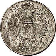 Charles VI. Reichstaler, 1739. Kremnica. Very fine to extremely fine. Estimate: 200 euros. From Künker sale 293 (27/28 June 2017), No 1619.