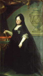 Maria Theresa at the age of ca. 60 years. Painting by Joseph Rösch.
