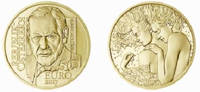 Österreich / 50 Euro / Gold .986 / 7,89 g / 22 mm / Design: Helmut Andexlinger und Herbert Wähner / Auflage: 20.000.