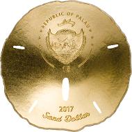 Palau / 1 Dollar / Gold .9999 / 1 g / 13,92 mm / Auflage: 2017.
