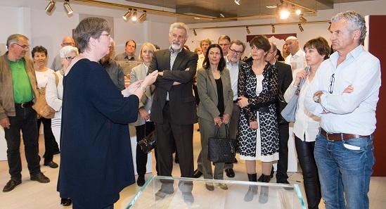 Dr. Ursula Kampmann begeisterte die Besucher während ihrer Führungen.
