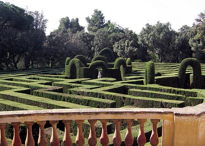 The Barcelona Labyrinth. Photo: Till F. Teench / Wikimedia Commons / CC BY-SA 2.5