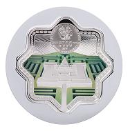 Masone Labyrinth: Armenia / 5000 dram / Silver .925 / 62.2g / Design: Giedrius Paulauskis / Mintage: 1500.