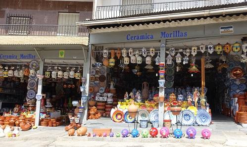 Keramik als Purullena wird in ganz Spanien verkauft. Allerdings teurer. Foto: KW.