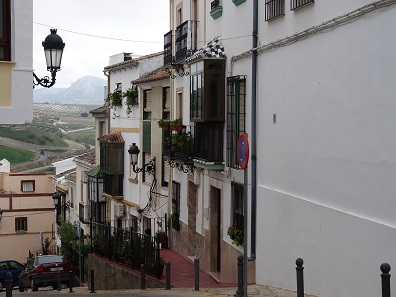 Baena is picturesque but missing for the cherry on top is a blue sky. Photo: KW.