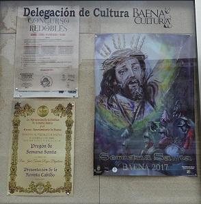 Reklame für die Semana Santa. Foto: KW.