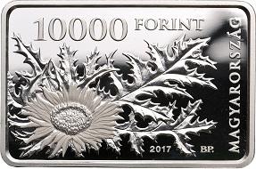 Hungary / 10,000 HUF / .925 silver / 31.46g / 38.61mm / Design: Gábor Kereszthury / Mintage: 5,000.