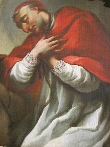 St. Charles Borromeo clad in the attire of a cardinal. Photo: UK.