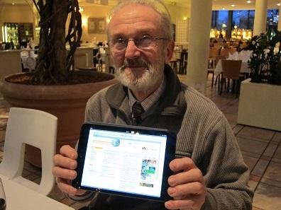 Horst Gutsche ist seit Gründung der Herzberger Münzfreunde vor 50 Jahren Vorsitzender des Vereins. Die MünzenWoche liest er so gerne, dass er mit seinem Gesicht für sie warb.