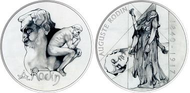 """Jury's Special Award: """"Auguste Rodin"""" by Mária Poldaufová."""
