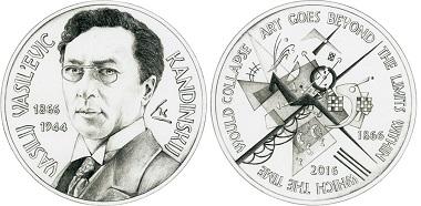 """Jury's Special Award: """"150th Birthday of Vassily Kandinsky"""" by Cristina De Giorgi."""