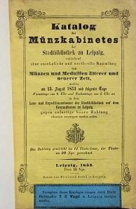 Los 241: Auktionskatalog von 1853.