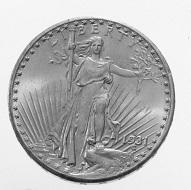USA. 20 dollars 1931 D. St. Gaudens.