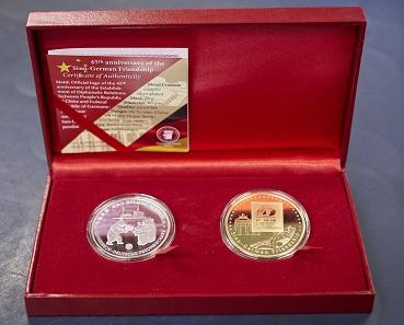 The set of .999 fine silver medals for €159. Available in the Künker online shop (www.kuenker.de).