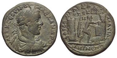 Los 163: Severus Alexander (222-235 n. Chr.). Pontos. Amaseia.