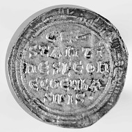 Silver miliaresion, Leo IV, 741-745, overstruck on an Ummayad dirhem. From the Peter Donald Collection. Photo: Princeton University Numismatic Collection, Department of Rare Books and Special Collections, Princeton University Library.