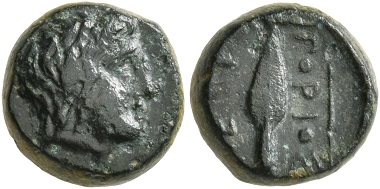 Lot 174: Kings of Thrace. Ketriporis, circa 356-352/1 BC. Chalkous. Very fine. Starting price: 50 CHF. Hammer price: 1,600 CHF.