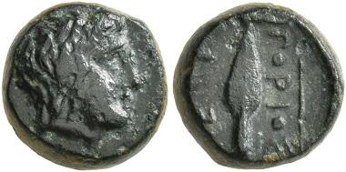 Lot 174: Könige von Thrakien. Ketriporis, circa 356-352/1 v. Chr. Chalkous. Sehr schön. Startpreis: 50 CHF. Zuschlag: 1.600 CHF.