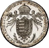 293 / Lot 1653: Francis II, 1792-1804. Konventionstaler 1792, Vienna. Königstaler for Hungary. Very rare. First strike. Almost FDC. Estimate: 7,500,- euros. Hammer price: 24,000,- euros.