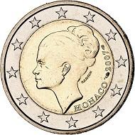 293 / Lot 2075: Monaco. Albert II, since 2005. 2 euros 2007. 25th anniversary of the death of Princess Grace. From the Terletzki Collection. Rare. In the original box. FDC. Estimate: 750,- euros. Hammer price: 1,300,- euros.
