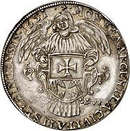 293 / Lot 2133: Poland / Elbing. Reichstaler 1651. From the Terletzki Collection. Very rare. Very fine. Estimate: 5,000,- euros. Hammer price: 28,000,- euros.