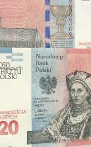Poland, Commemorative 20 Zloty.