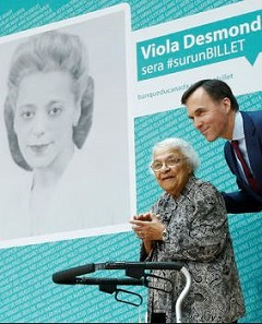 Award-winning campaign to select a Canadian woman to appear on a new banknote.