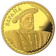 Spain / 400 Euros / Gold .999 / 27g / 38mm / Mintage: 2000.