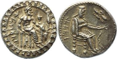 Los A154: Kilikien. Tarsos. Datames, Satrap, 378-372 v.Chr. Stater. SNG Aulock 5951; SNG Schweiz 86. Patina, vorzüglich.1.550 Euro.