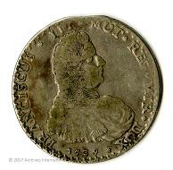 Italy, silver 1 Scudo, 1739, Modena Francesco III d'Este.