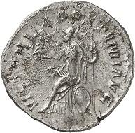 Lot 274. Postumus, unknown mint, 263. 2nd known specimen. Very fine. Estimate: 4,000 euros.
