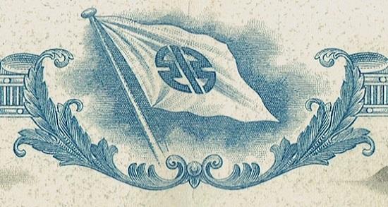The flag on the Kawasaki share.