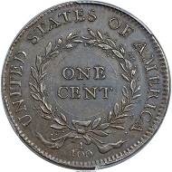 United States. 1792 P1C Birch Cent. PCGS Genuine Secure. XF Details. Realized: 211,500 USD.