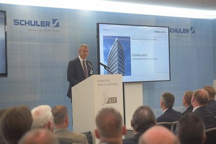 Stefan Klebert, Vorstandsvorsitzender von Schuler.