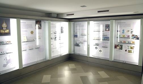 Blick in die Ausstellung. Quelle: OeNB.