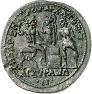 Lot 436: Ancyra (Galatia). Philippus I. Bronze. Extremely fine. Estimate: 1,500,- euros.