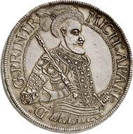 Lot 3425: Transylvania / Hungary. Michael Apafi, 1661-1690. Thick triple taler 1678, Carlsburg. Probably unique. Extremely fine. Estimate: 20,000,- euros.