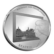 Netherlands - EUR 5 - 925 silver - 15.5 g - 33.00 mm - max. 12,500 (proof quality).