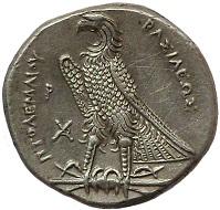 Egypt. Ptolemy I Soter. Alexandria, 305-285 BC. AR tetradrachm. Extremely fine. 1,100 EUR.