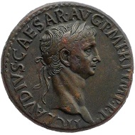 Claudius. Rome, 42-43 AD. AE sestertius. Nearly extremely fine. 12,000 EUR.