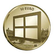 Netherlands - EUR 10 - 900 gold - 6.72 g - 22.5 mm - max. 3,500 (proof quality).