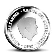 Netherlands / 5 Euros / Silver .925 / 15.5g / 33mm / Mintage: 7,500.