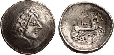 Los 8: Kelten, Zentral Europa. Helvetii. Spätes 2.-frühes 1. Jh. BC. Gutes sehr schön. Schätzpreis: 3.500 CHF.