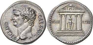 Los 173 Claudius, 41-54. Cistophorus, Ephesus, 41-42 (?). Schätzpreis: 20.000 CHF.
