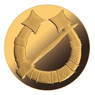 Latvia / 20 Euros / Gold .9999 / 6g / 21mm / Design: Inguna Elere (graphic design) and Solvita Rulle (plaster model) / Mintage: 4000.