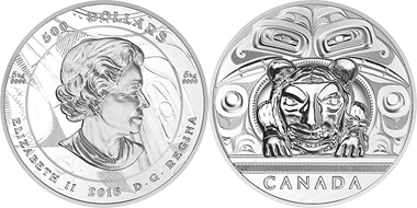 """Canada was the winner in the category """"Silver Coin of the Year""""."""