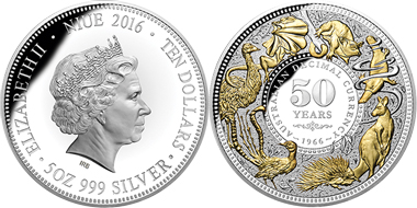 """Downies Coins Pty Ltd (Australia) was the winner in the category """"Coin of the Year""""."""